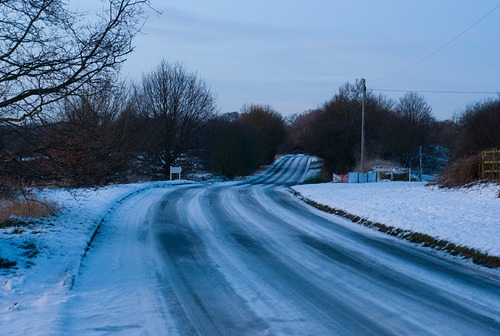 Icy Essex Road